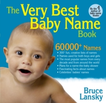The Very Best Baby Name Book, Paperback Book