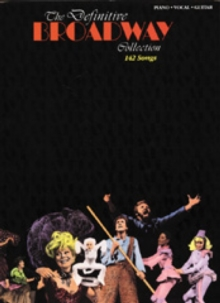 The Definitive Broadway Collection, Paperback Book