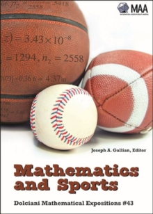 Mathematics and Sports, Paperback Book