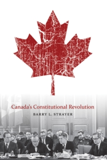 Canada'S Constitutional Revolution, Paperback / softback Book