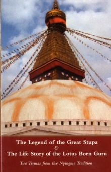 LEGEND OF THE GREAT STUPA & THE LIFE STO, Paperback Book