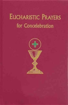 SD EUCHARISTIC PRAYERS FOR CONCELEBRATIO,  Book