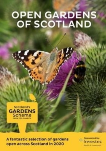Scotland's Gardens Scheme 2020 Guidebook, Paperback / softback Book