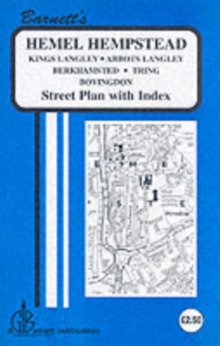 Hemel Hempstead : Tring / Berkhamsted / Bovington / The Langleys, Sheet map, folded Book