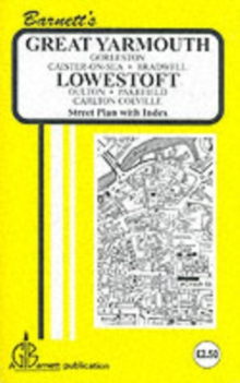 Gt. Yarmouth / Lowestoft : Bradwell / Caister, Sheet map, folded Book