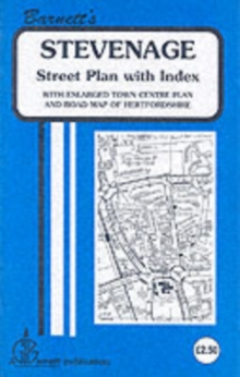 Stevenage, Sheet map, folded Book