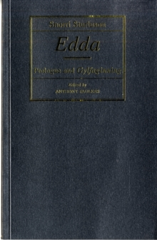 Edda : Prologue and Gylfaginning, Paperback / softback Book