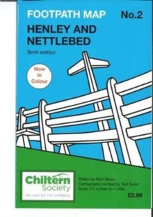 Map 2 Footpath Map 2. Henley and Nettlebed : Tenth Edition - In Colour, Paperback Book
