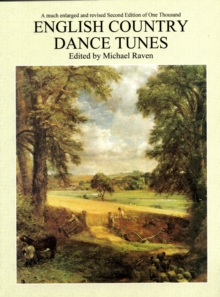 One Thousand English Country Dance Tunes, Sheet music Book