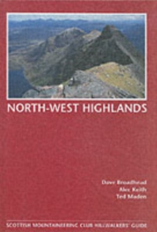 North-West Highlands, Hillwalkers' Guide, Hardback Book