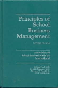 Principles of School Business Management, Hardback Book