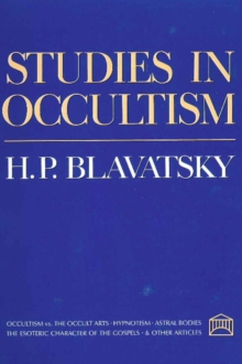 Studies in Occultism, Paperback / softback Book
