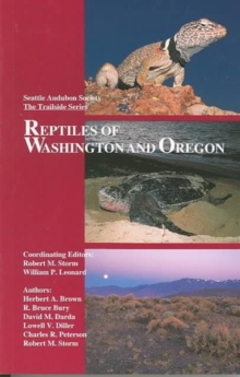 Reptiles of Washington and Oregon, Paperback / softback Book