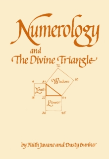 Numerology and the Divine Triangle, Paperback Book