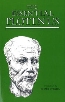The Essential Plotinus, Paperback Book