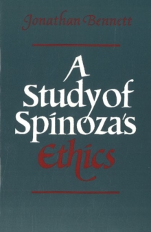 A Study of Spinoza's Ethics, Paperback Book