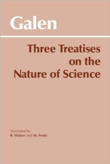 Three Treatises on the Nature of Science, Paperback Book