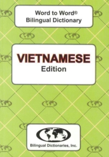 English-Vietnamese & Vietnamese-English Word-to-Word Dictionary, Paperback / softback Book