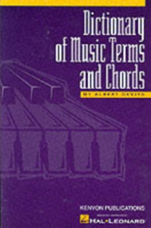 DeVito : Dictionary Of Music Terms And Chords, Paperback Book