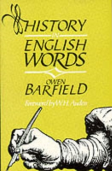 History in English Words, Paperback / softback Book