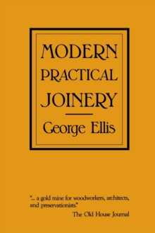Modern Practical Joinery, Paperback / softback Book