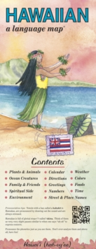 Hawaiian a Language Map, Sheet map, folded Book