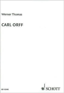 Carl Orff, Paperback / softback Book