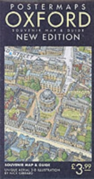 Oxford Aerial Map and Guide, Sheet map, folded Book