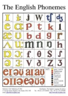 The English Phonemes in Colour, Wallchart Book