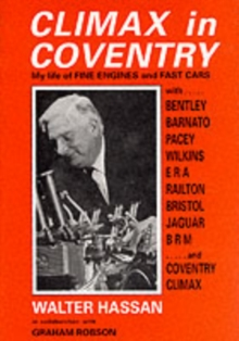 Climax in Coventry, Hardback Book