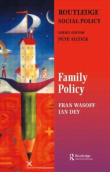 Family Policy, Paperback / softback Book