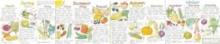 Seasonal Fruit and Vegetables Wallchart, Wallchart Book