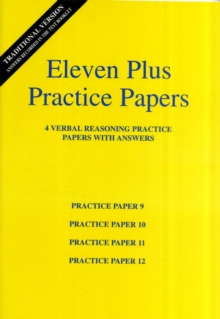 Eleven Plus Verbal Reasoning Practice Papers 9 to 12, Paperback Book