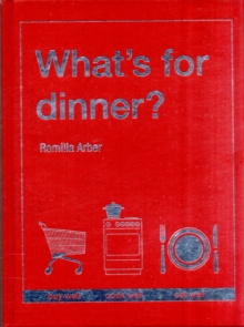 What's for Dinner?, Hardback Book