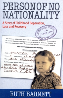 Person of No Nationality : A Story  of Childhood Loss and Recovery, Paperback / softback Book