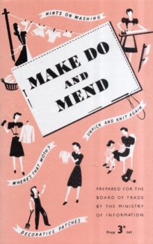 Make Do and Mend, Paperback Book
