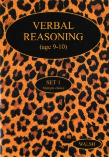 Verbal Reasoning : Age 9-10 Set 1, Paperback Book