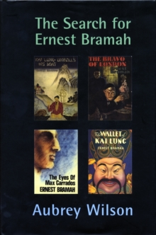 The Search for Ernest Bramah, Hardback Book
