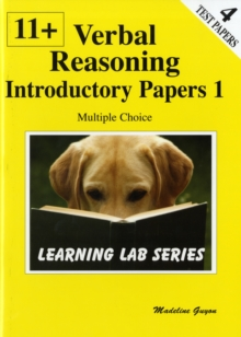 11+ Introductory Practice Papers : Verbal Reasoning Multiple Choice Bk. 1, Paperback Book