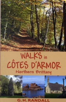 Walks in Cotes D'Armor, Northern Brittany, Paperback Book