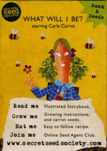 What Will I Be? Starring Carla Carrot, Mixed media product Book