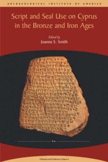 Script and Seal Use on Cyprus, Paperback / softback Book