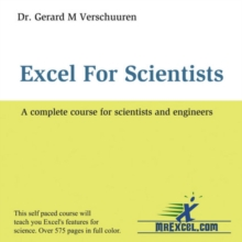 Excel for Scientists : A Complete Course for Scientists and Engineers, CD-ROM Book
