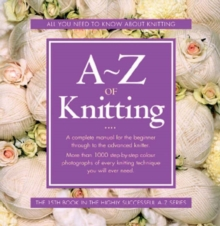 A-Z of Knitting, Spiral bound Book