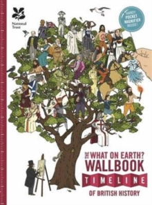The British History Timeline Wallbook: Unfold the Story of Great Britain - From the Dinosaurs to the Present Day!, Hardback Book