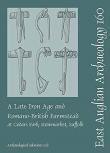 EAA 160 A Late Iron Age and Romano-British Farmstead at Cedars Park, Stowmarket, Suffolk, Paperback Book