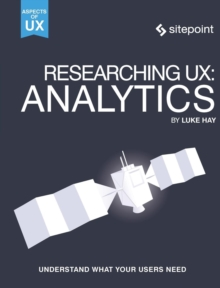Researching UX: Analytics, Paperback / softback Book