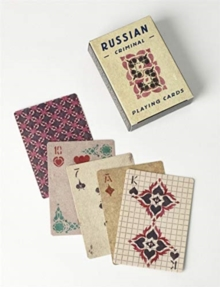 Russian Criminal Playing Cards : Deck of 54 Playing Cards, Cards Book