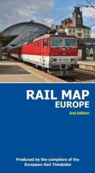 Rail Map of Europe : 2nd Edition, Sheet map, folded Book