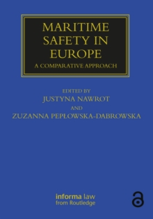 Maritime Safety in Europe : A Comparative Approach, PDF eBook